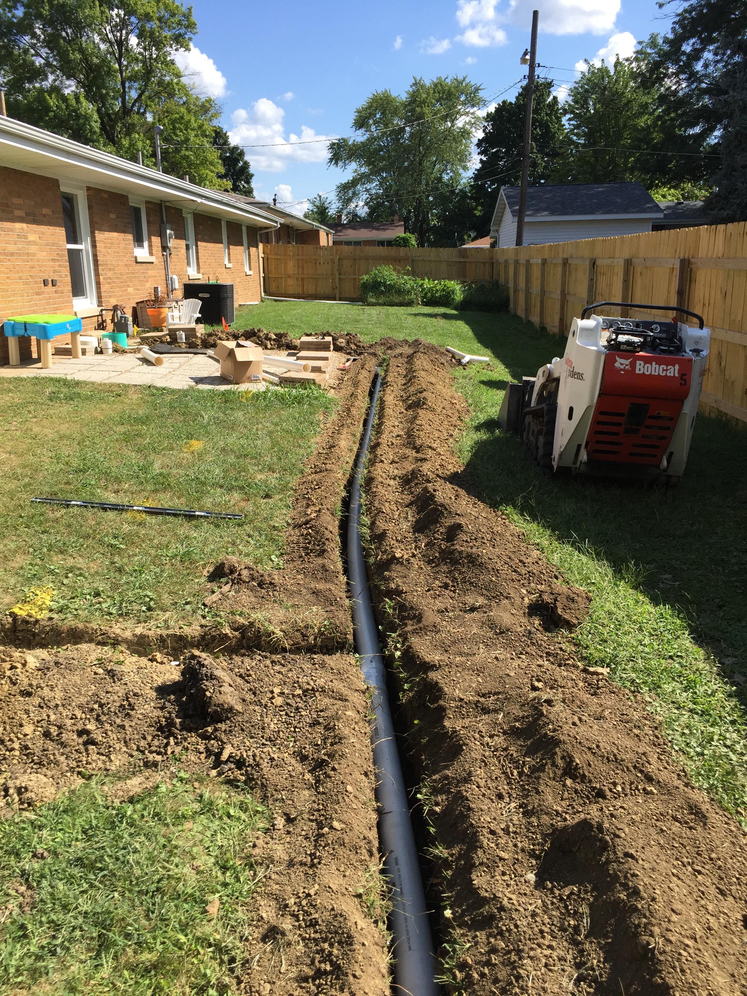 site grading u0026 drainage bloomington normal il gudeman gardens