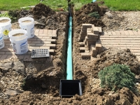 landscape drainage & drain tile